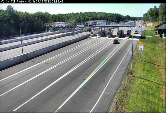 I-95, Exit 7, York Maine Toll Plaza North