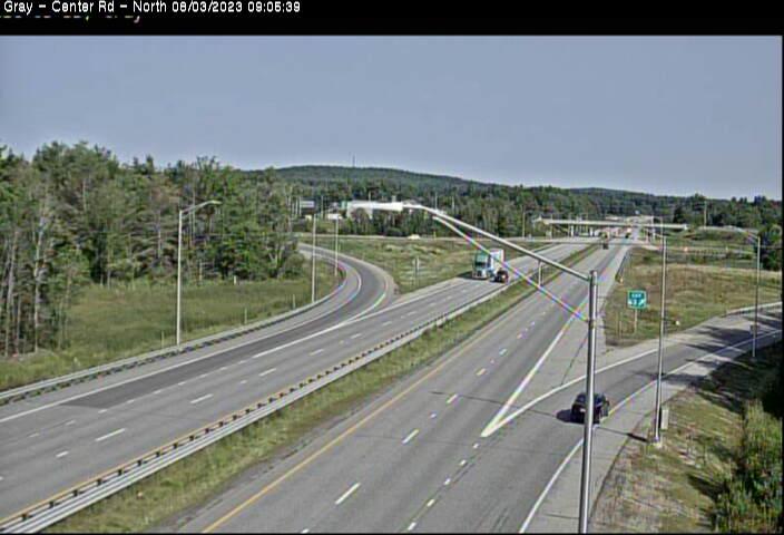 I-95 Gray Maine Northbound