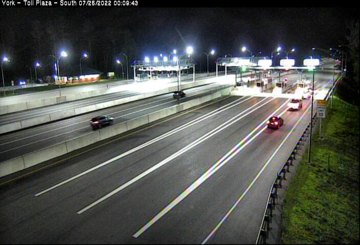 -95, Exit 7, York Toll Plaza South